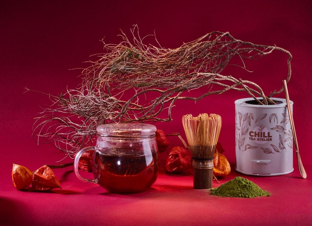 thé bio énergisant